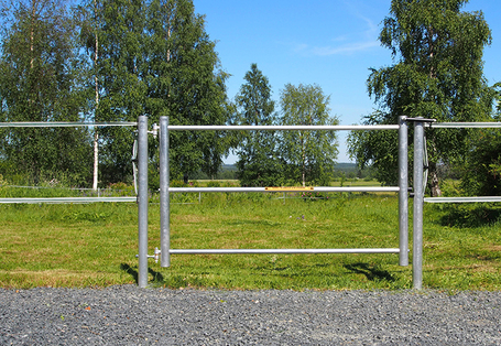 2 meter pasture gate for horses and cattle - Silber electric fences