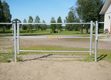 Contact 3 meter pasture gate to your wire fence - Silber fences
